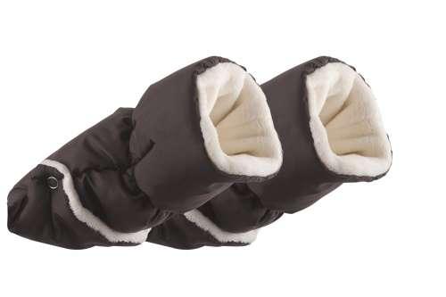Nuvita Kézmelegítő kesztyű babakocsira #sötétszürke