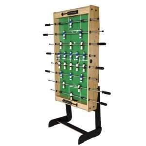 Asztali foci BELFAST 121x101x79 cm - világos fa dekor 30427395