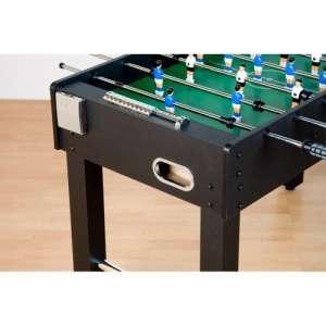 Asztali foci - fekete, MDF 121 x 101 x 79 cm 30427432