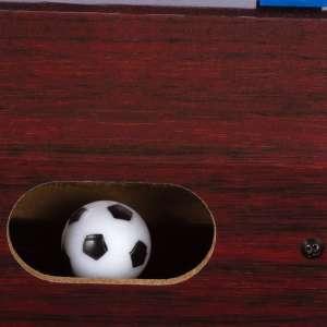 Mini asztali foci lábakkal - sötét