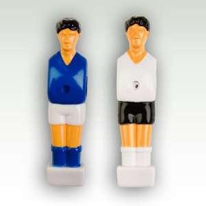 22 játékosból álló készlet asztali focihoz kék - fehér - 2,5 x 10,5 x 2 cm 30427536