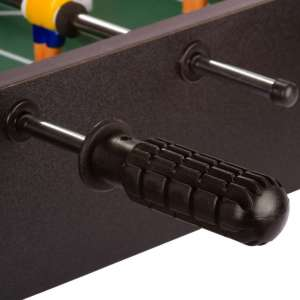 Mini asztali foci - 51 x 31 x 8 cm - fekete 30427596