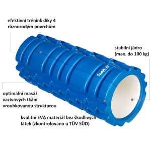 MOVIT masszázs henger - kék 30430201