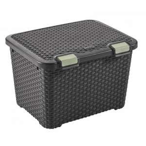 Műanyag Tároló doboz 43L Curver #barna  30431218