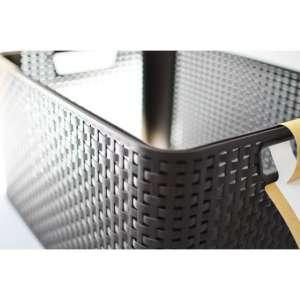 Műanyag tároló doboz STYLE BOX - L- barna CURVER 30431251