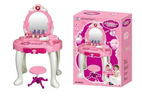 Gyermek kozmetikai asztal G21 hajszárítóval