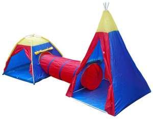 Gyermek szett - 2 sátor összekötő alagúttal 30431562