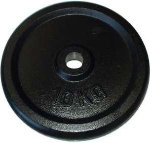 Súlytárcsa súlyzóhoz 10 kg - 25 mm 30431588