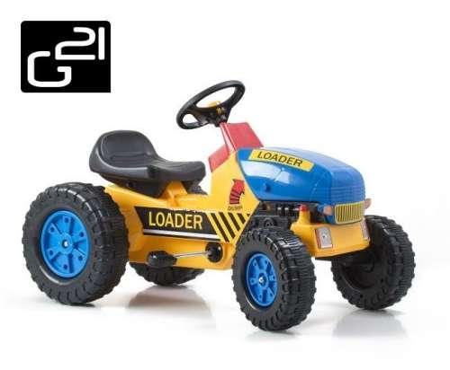 Traktor G21 Classic #sárga-kék