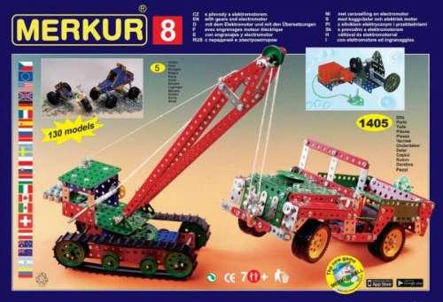 Építő készlet - Merkur 8