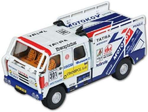 Autó Tatra rally fém - 18cm
