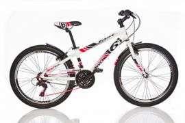 "Dino Sport Kerékpár 1024B 24"" #fehér-piros 30433419"