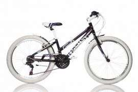"Dino Sport Kerékpár 1024B 24"" #fekete-fehér 30433420"