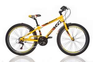 "Dino Sport Kerékpár 1024B 24"" #sárga 30433422"