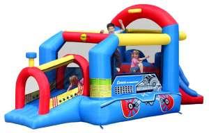 Felfújható gyerek party ugrálóvár - Mozdony 30433544