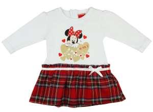 Hosszú ujjú Ruha - Minnie Mouse  #fehér-piros 30483658