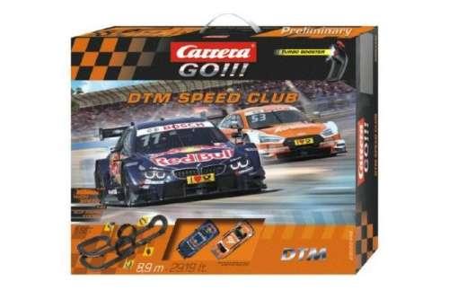 Játék Autópálya Carrera GO! DTM 8,1m