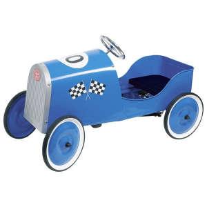 Pedálos fém Versenyautó #kék 30994138 Pedálos jármű