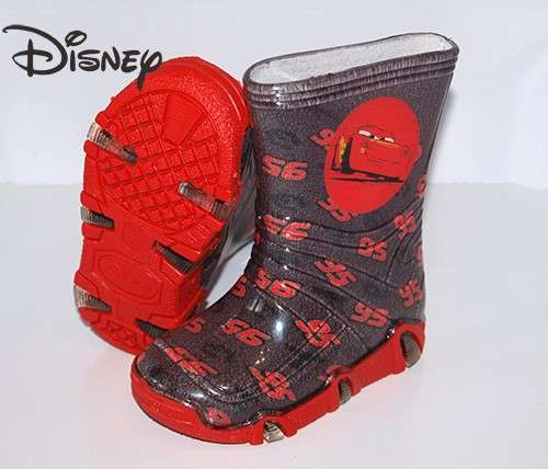 Disney Gumicsizma - Verdák #piros-szürke