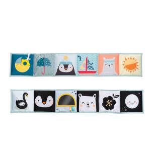 Taf Toys puha Bébikönyv - Pingvin és jedesmedve 30436888 Textil könyv gyerekeknek