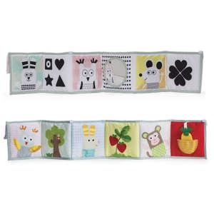 Taf Toys puha Bébikönyv - Szafari 30436890 Textil könyv gyerekeknek