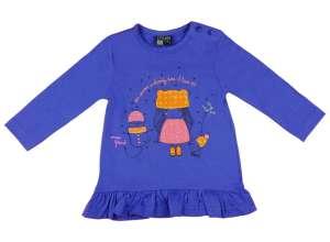 050d9a8def Losan Hosszú ujjú póló - Kislány #lila 30485783 Gyerek hosszú ujjú póló
