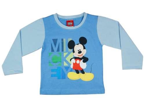 Disney Hosszú ujjú póló - Mickey Mouse  kék  7fb31b24b8