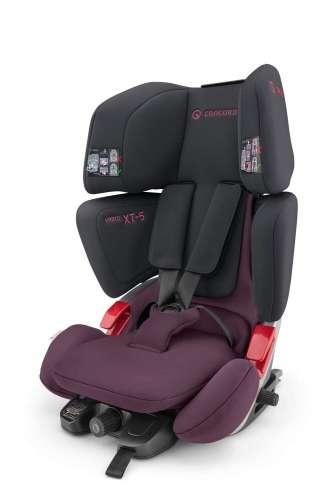 Concord Vario XT-5 Isofix Autósülés 9-36kg #fekete-rózsaszín