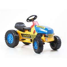 G21 Classic lábbal hajtós traktor sárga / kék 30439120