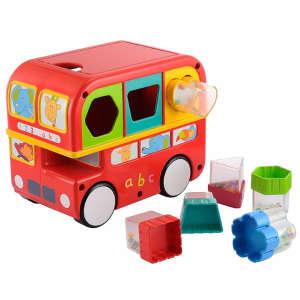 Formabedobó játék - Busz 30439220