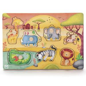 Hangot adó puzzle -szavanna 30439225 Fejlesztő játék bölcsiseknek