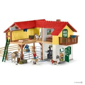 Falusi ház istállóval és állatokkal 30439297