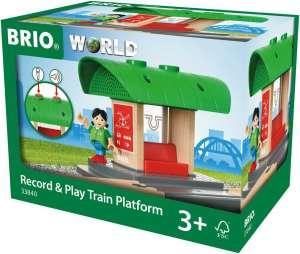 Record & Play vonat állomás Brio 30439460