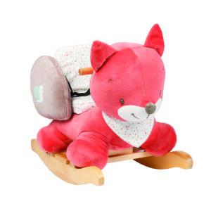 Nattou Hintázó állatka - Oscar, a róka #rózsaszín-bézs 30439639