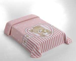 Belpla Baby Sweet Pléd - Koronás Maci 80x110cm  rózsaszín 512c9b7a18