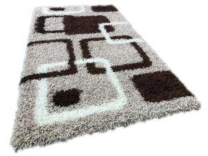 Shaggy Stella bézs szőnyeg szett 1 db 60x220 cm és 2 db 60x110 cm 30439786 Szőnyeg gyerekszobába