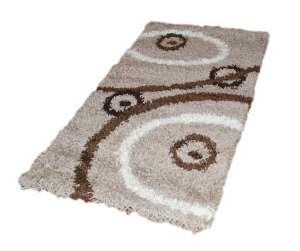 Shaggy Andrew barna szőnyeg szett 1 db 60x220 cm és 2 db 60x110 cm 30439856 Szőnyeg gyerekszobába