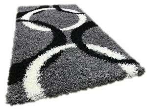 Shaggy Liliana szürke szőnyeg szett 1 db 60x220 cm és 2 db 60x110 cm 30440000 Gyerekszoba