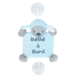 Nattou plüss - Bárány #kék 30443915 Baby on board jelzés