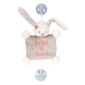 Nattou plüss - Nyuszi #bézs 30443917 Baby on board jelzés