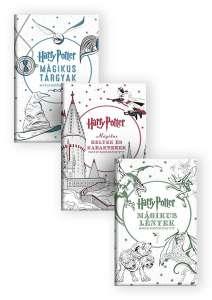 Harry Potter színezőkönyvek - könyvcsomag 30446829 Színező, kifestő