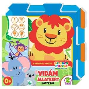 Szivacs puzzle 8db - Állatok 30446855 Szivacs puzzle