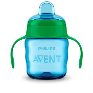 Avent Classic Itatópohár 200ml #kék-zöld 30448226 Itatópohar, pohár, kulacs