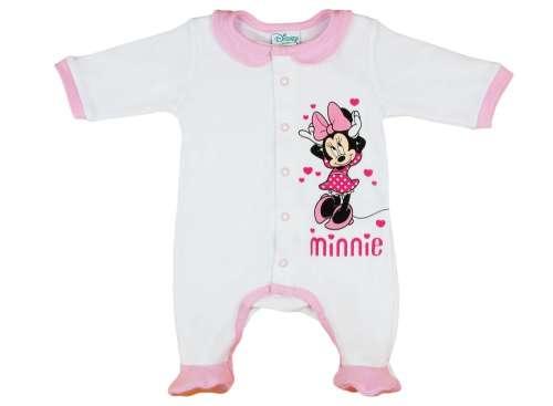 9729653d63 Disney Minnie elöl patentos hosszú ujjú Rugdalózó 62 | Pepita.hu