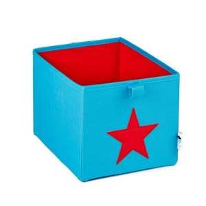 Store !T Kocka Tároló - Csillag #türkiz-piros 30480942 Játéktároló