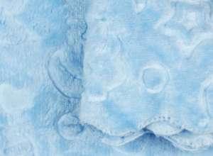 Micro Star bébi Takaró 90x100cm #kék 30484889