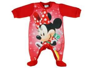 Belül bolyhos, hosszú ujjú Rugdalózó - Minnie Mouse #Piros 30487084