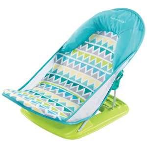 Summer Infant Triangle Stripes Babafotel kádba #kék 30482957 Babatartó a kádba