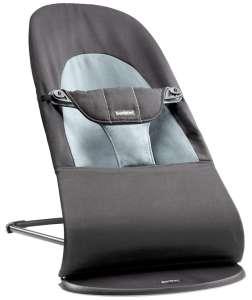 BabyBjörn Balance Soft Pihenőszék #fekete-sötétszürke  30484627 Pihenőszék, elektromos hinta