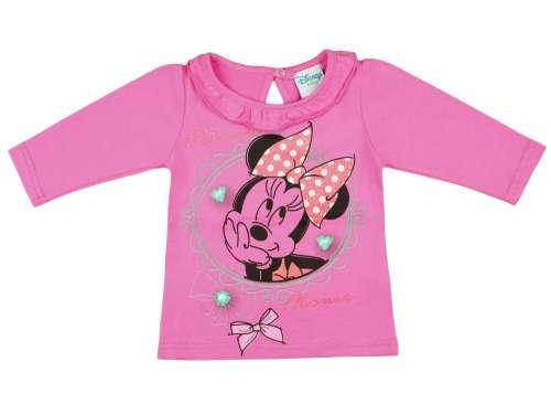 Disney Hosszú ujjú póló - Minnie Mouse  rózsaszín  7d049a5aaf